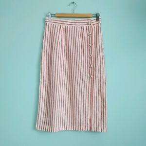 🔥3/$25   F21   linen blend skirt